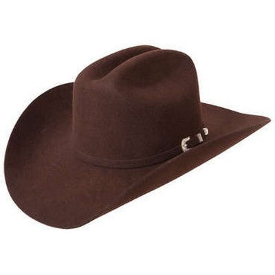 Stetson 3X Chocolate Oak Ridge Felt Hat