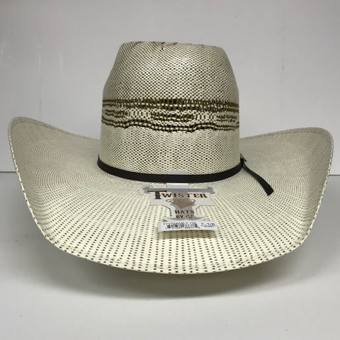 Twister Bangora 4 1/4 Straw Hat