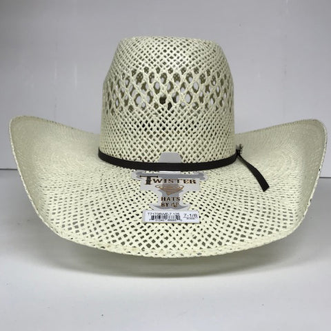 Twister Bangora Straw Hat