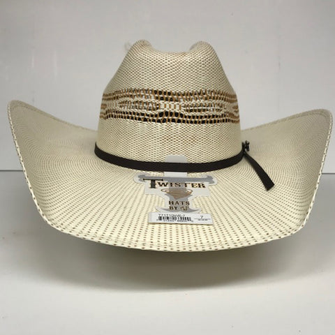 Twister 4 1/4 Bangora Straw Hat