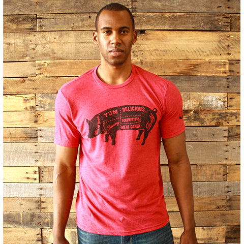 Mason Jar Label Tasty Pig T-Shirt