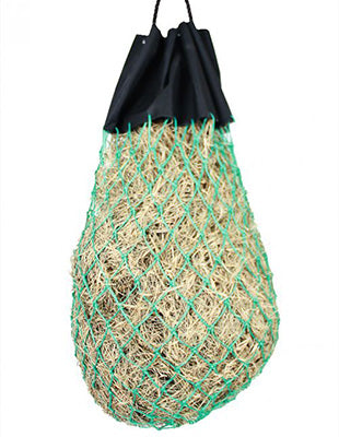 Teal Drawstring Slow Feed Bag