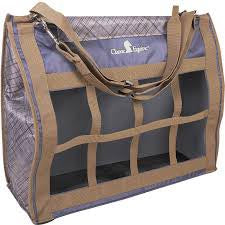 Classic Equine Grey/ Caribou Slash Top Load Hay Bag
