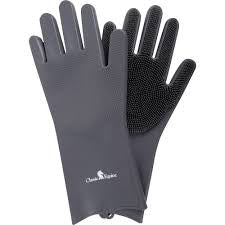 Classic Equine Gray Washing Gloves