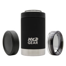 Wyld Gear Black Multi Use Can Koozie