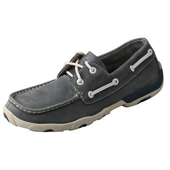 Twisted X Women's Blue Driving Moc