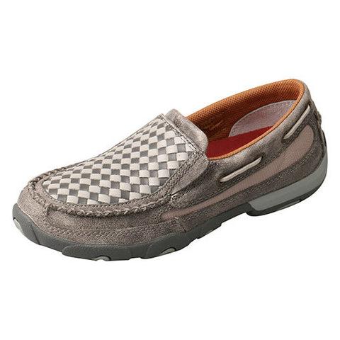 Twisted X Men's Grey Weave Slip On