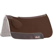 Classic Equine Brown BioFit Correction Saddle Pad