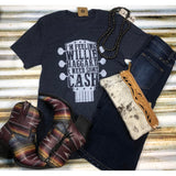 Willie, Haggard, & Cash Navy Tee