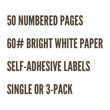 Pocket Notebook | CHECKLIST | Single or 3-Pack