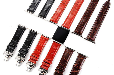 anhem leather apple watch bands