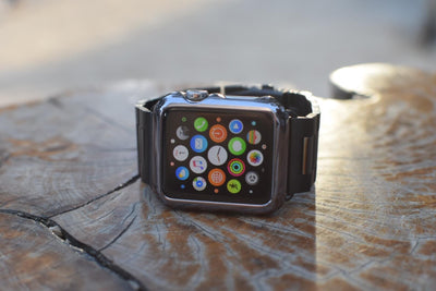 Anhem - apple watch stainless steel band and cover