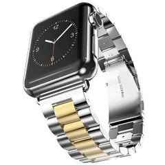 anhem apple watch two tone band gold