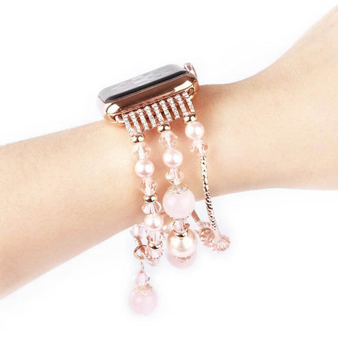 anhem apple watch agate bead bracelet