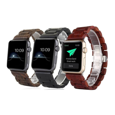 anhem apple watch wood band