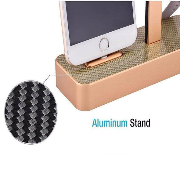 Anhem Apple watch accessories Aluminum Apple Watch Charging Stand