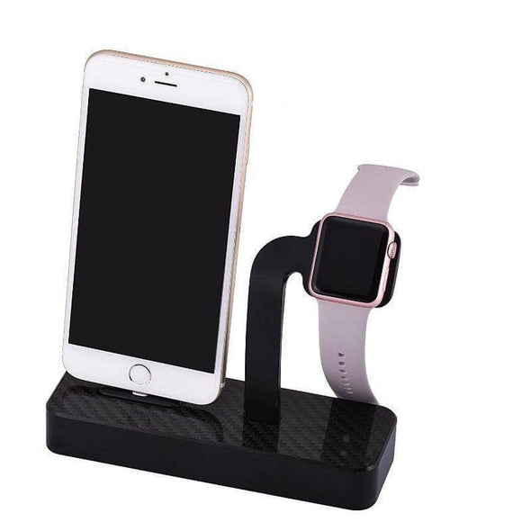 Anhem Apple watch accessories Black Aluminum Apple Watch Charging Stand