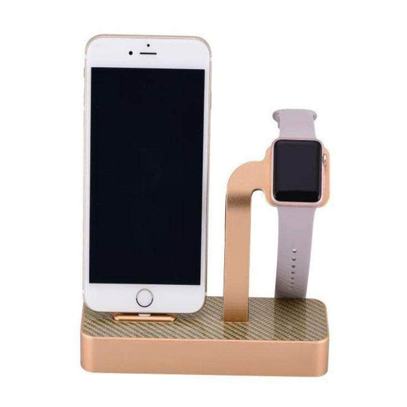 Anhem Apple watch accessories Gold Aluminum Apple Watch Charging Stand