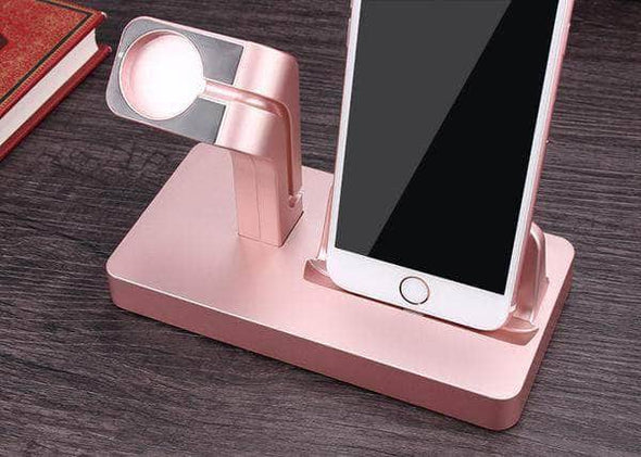 Anhem Apple watch accessories Rose Gold Apple Watch Charging Stand