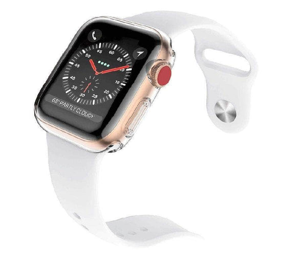 Anhem Apple watch accessories Series 1 / 38mm / Clear OPEN BOX - Full Apple Watch Protective Case Cover