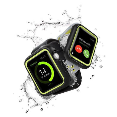 Anhem Apple watch accessories Yellow / 38mm Rugged Apple Watch Protective Case Cover