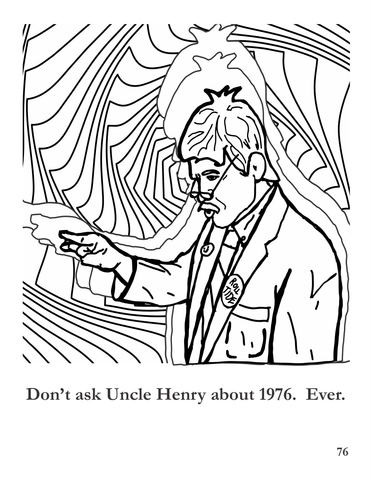 Uncle Henry coloring page- 1976.