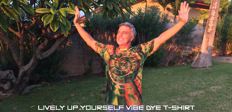 Lively Up Yourself - Vibe Dye T-shirt