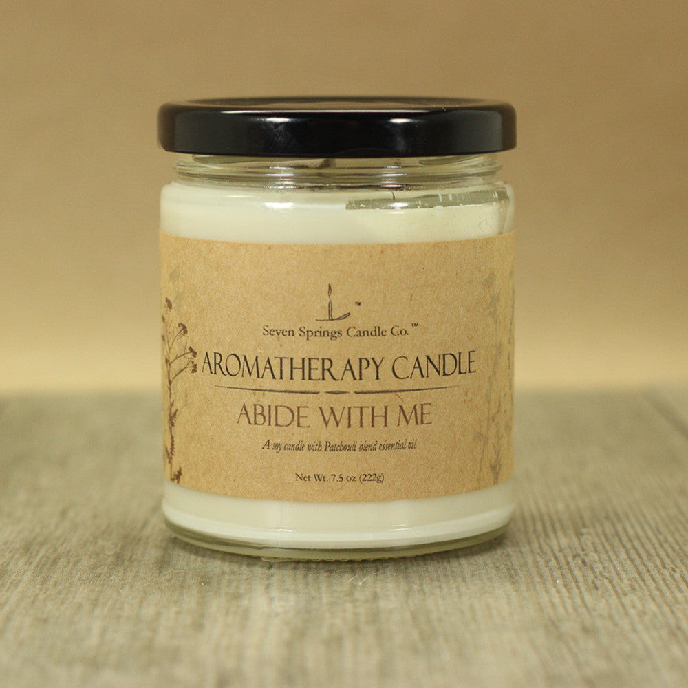 Aromatherapy Soy Candle Abide With Me Hero Shot