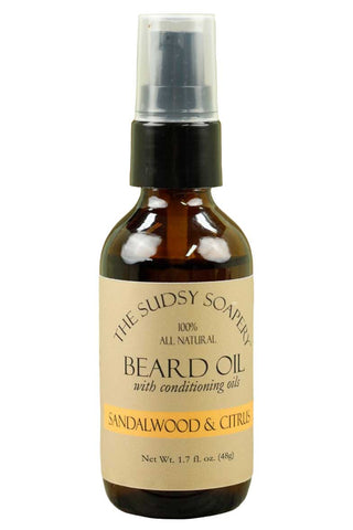 Beard Oil, Sandalwood Citrus