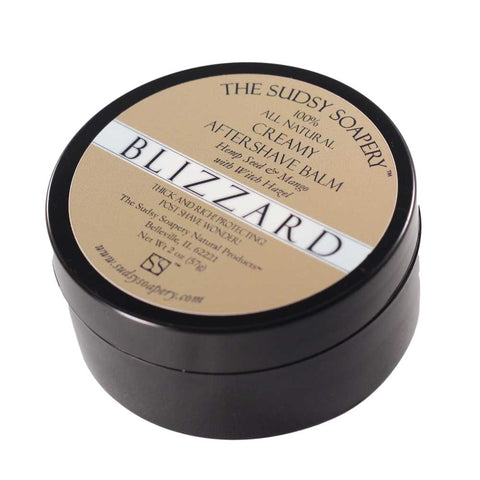 Creamy After Shave Balm, Blizzard, Mango Hemp Lotion