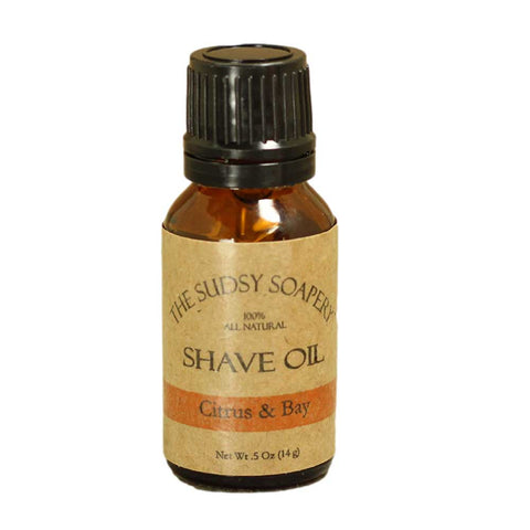 Pre-Shave Oil-Bay and Citrus