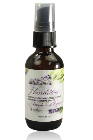 Handitizer-Hand Refresher Spray with 62% Organic Cane Alcohol