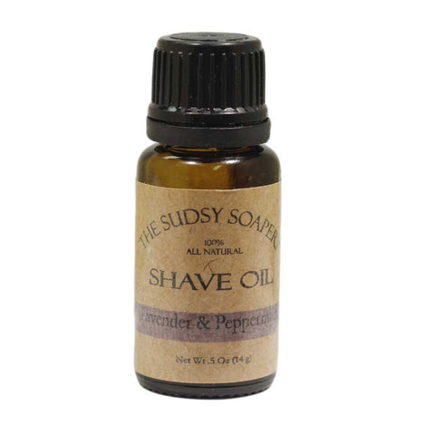 Pre Shave Oil, Lavender Peppermint
