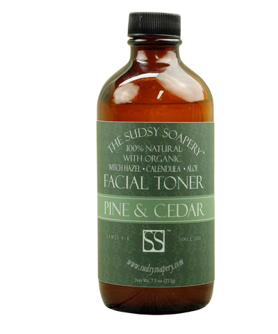 Pine and Cedar aftershave splash