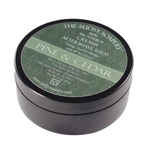 Pine and Cedar Creamy Aftershave Balm