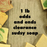 sudsy soapery clearance soap