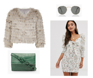 Style Board: Lucy x Flower Dress