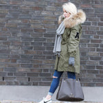 College Parka Green