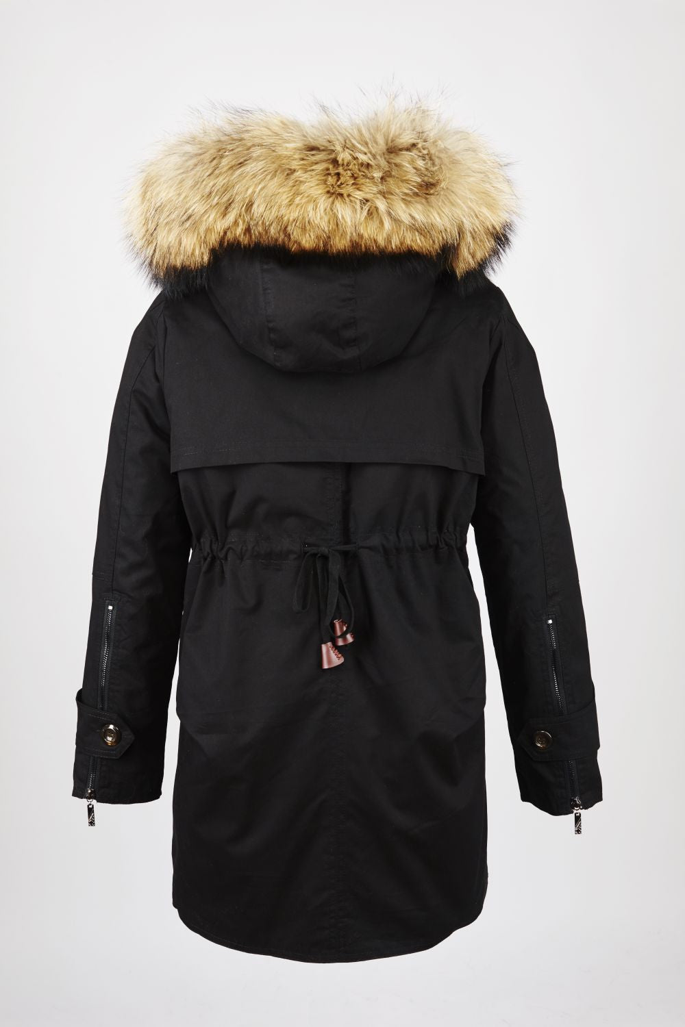 Classic Army Parka Black
