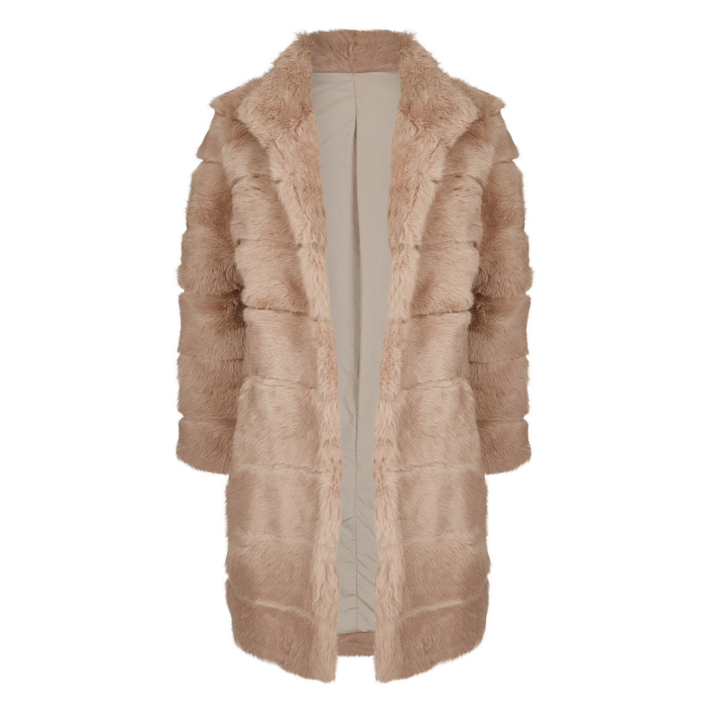 Sleek Coat Beige