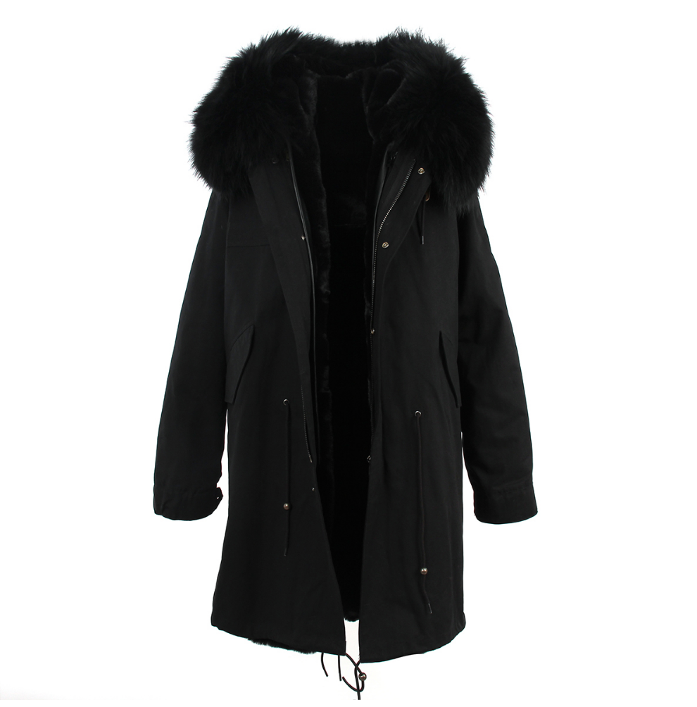 Maxi Parka All Black