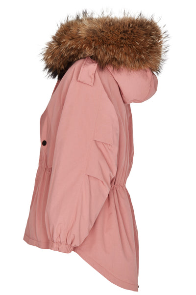 Puffer Coat Rose Short