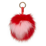 Keychain Candy Valentines Fluff Red