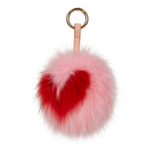 Keychain Candy Valentines Fluff Rosé