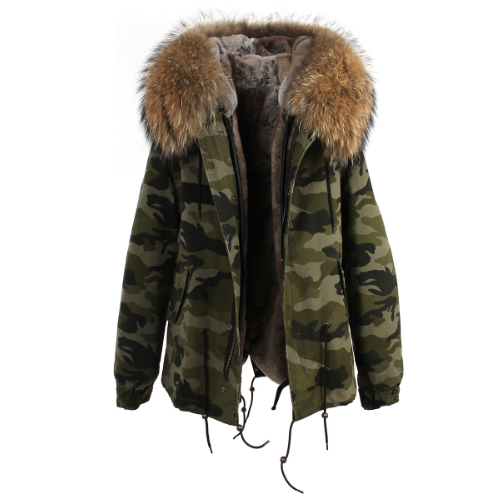 Mini Camou Parka (2 Colors)