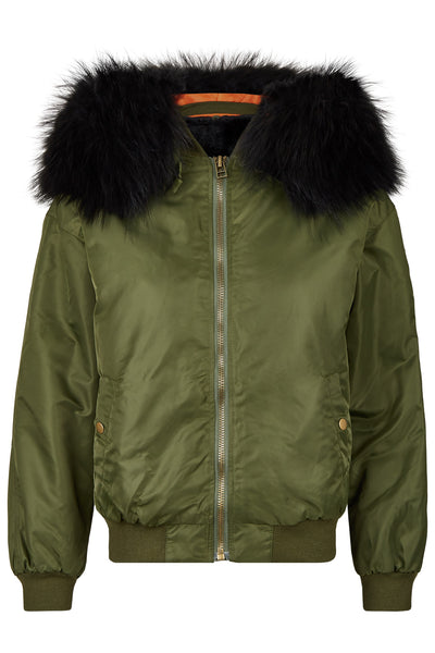 Luxury Bomber 2.0 Olive/Black