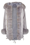 Nova Fox Parka Grey