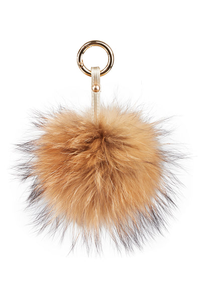 Luxury Fox PomPom Natural