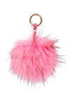 Luxury Fox PomPom Pink