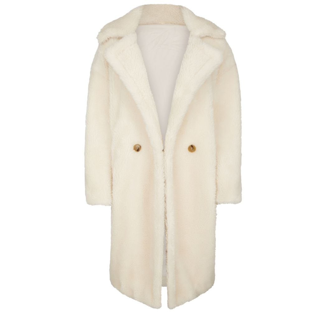 Willow Coat Wool White